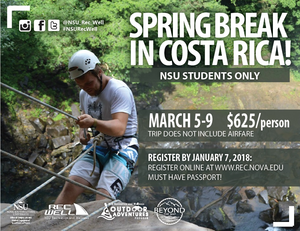 Costa Rica - Spring Break