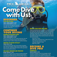 Come Dive with us 2018