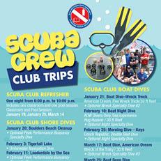 Scuba Crew – Club Trips (Apr. 29)