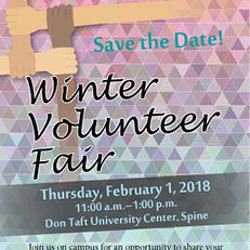 Winter Volunteer Fair (Feb. 1)