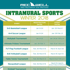 Intramural Winter 2018