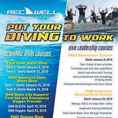 Scuba Diving Courses 2018
