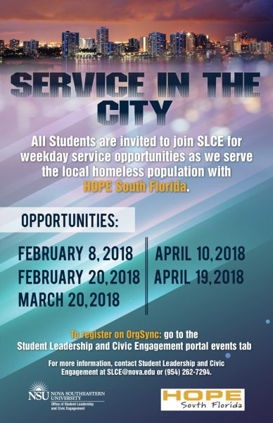 Service in the City 2018