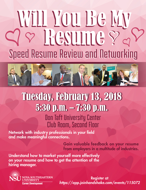 will you be my résumé speed resume review and networking feb 13
