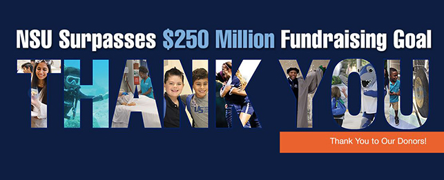 NSU Surpasses Fundraising Goal