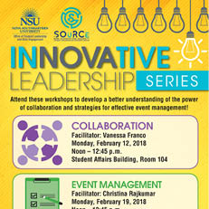 InNOVAtive Leadership Series February 2018