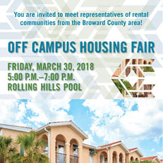 Off Campus Housing Fair