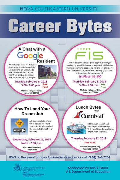 Career Bytes February 2018