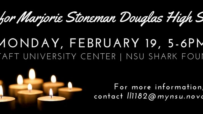 Vigil for Majorie Stoneman Douglas High School