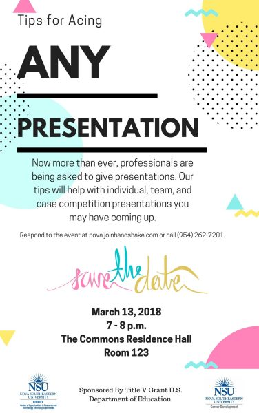 Tips to Ace Any Presentation