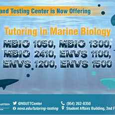 Tutoring in Marine Biology
