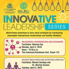 InNOVAtive Leadership Series - April