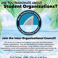 Apply to be a part of the Inter-Organizational Council (IOC) today!