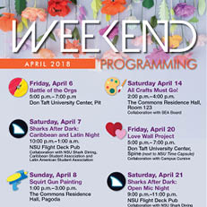 Weekend Programming, April 2018