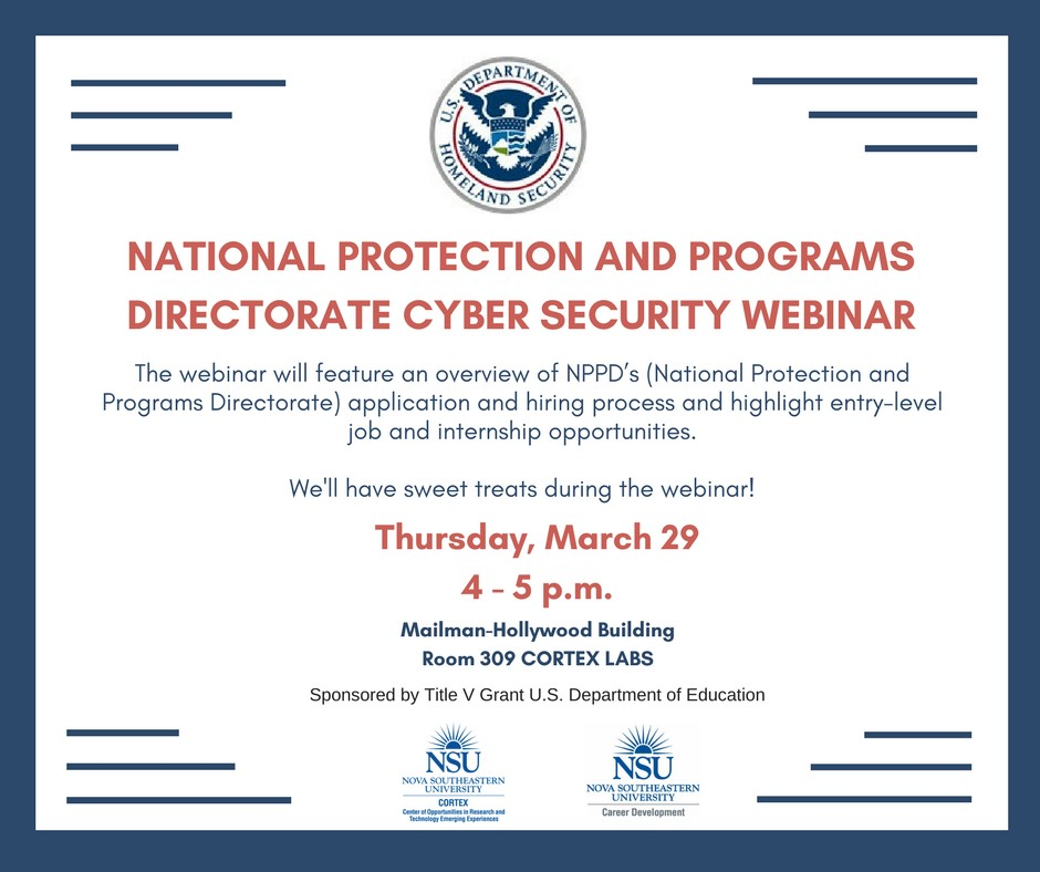 National Protection and Programs Directorate (NPPD) Cyber Security ...