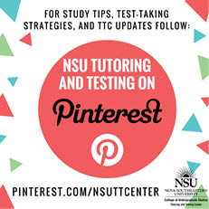 Follow the Tutoring and Testing Center on Pinterest