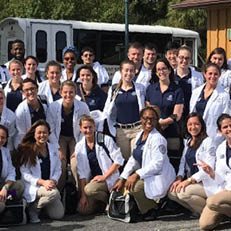 Fort Lauderdale PT Students Give Back to the Community on a Continuum
