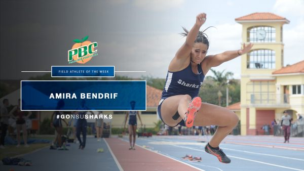 Amira Bendrif Tabbed PBC Field Athlete of the Week