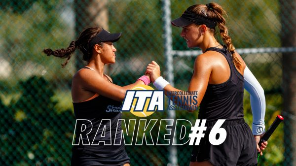 Obando and Ivanovic Rise in Latest ITA National Poll