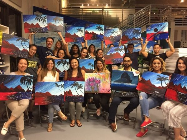 Palm Beach Painting With a Twist