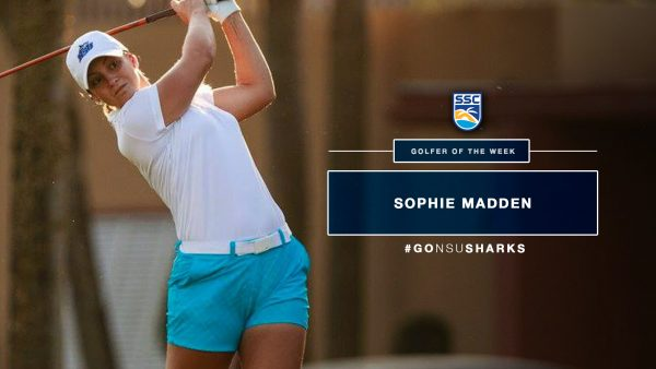 Madden Claims SSC Women's Golfer of the Week Honors