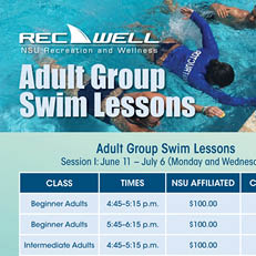 Adult Group Swim Lessons