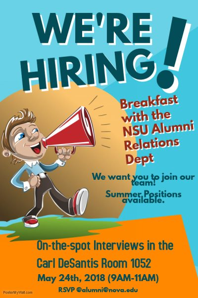 Exclusive Opportunity – Student Employment Positions Open!
