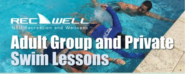 Adult Group and Private Swim Lessons with RecWell