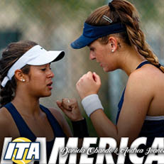 Obando and Ivanovic Named ITA All-Americans