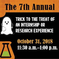 Trick to the Treat of an Internship or Research Experience