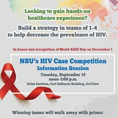 NSU's HIV Case Competition Info Session