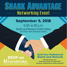 Shark Advantage Networking Event – Sept. 5