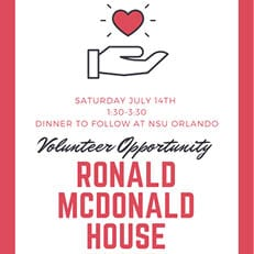 Volunteer Opportunity: Ronald McDonald House