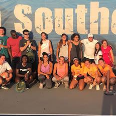 NSU Student-Athletes Host Special Olympics Tennis Clinics