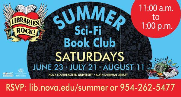 Summer Sci-Fi Book Club Saturdays