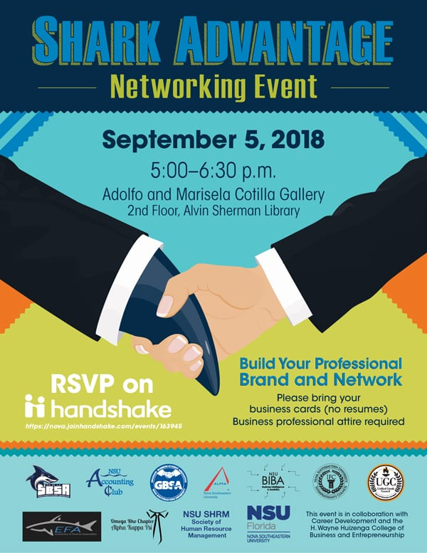 Shark Advantage Networking Event