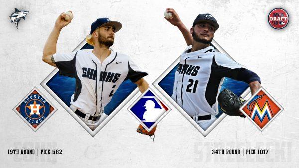 Conn, Strzelecki Selected on Day Three of MLB Draft