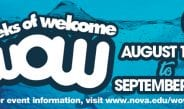 WOW: Weeks of Welcome August 15 – September 3, 2018