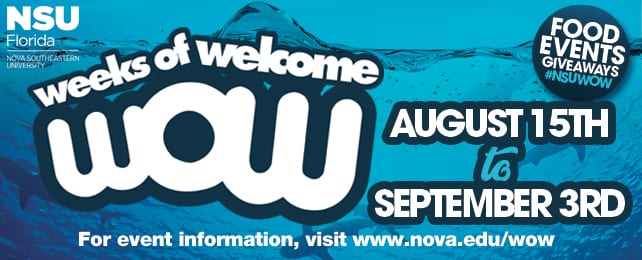 NSU WOW Weeks 2018