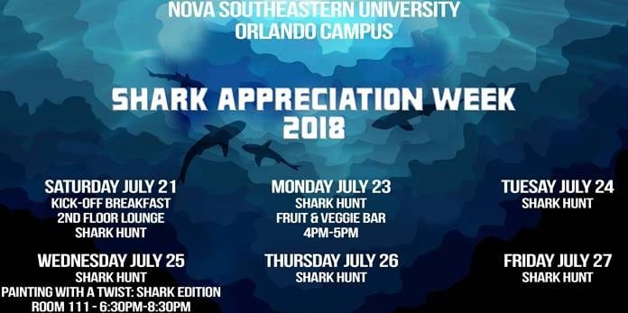 Shark Appreciation Week July 21-27, 2018