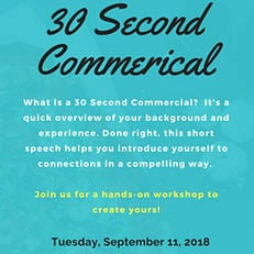 30 Second Commercial