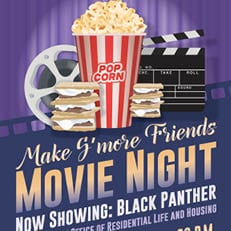 Make S'more Friends Movie Night: Black Panther