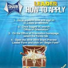 Become a Shark Preview Leader