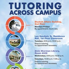 Tutoring Across Campus – Updated Winter 2019