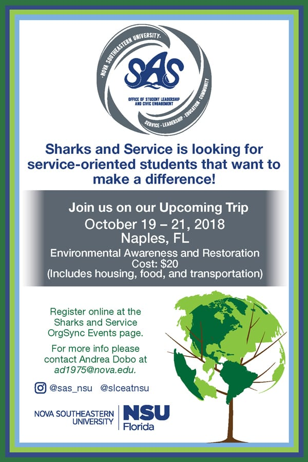 Be A Part of Sharks and Service
