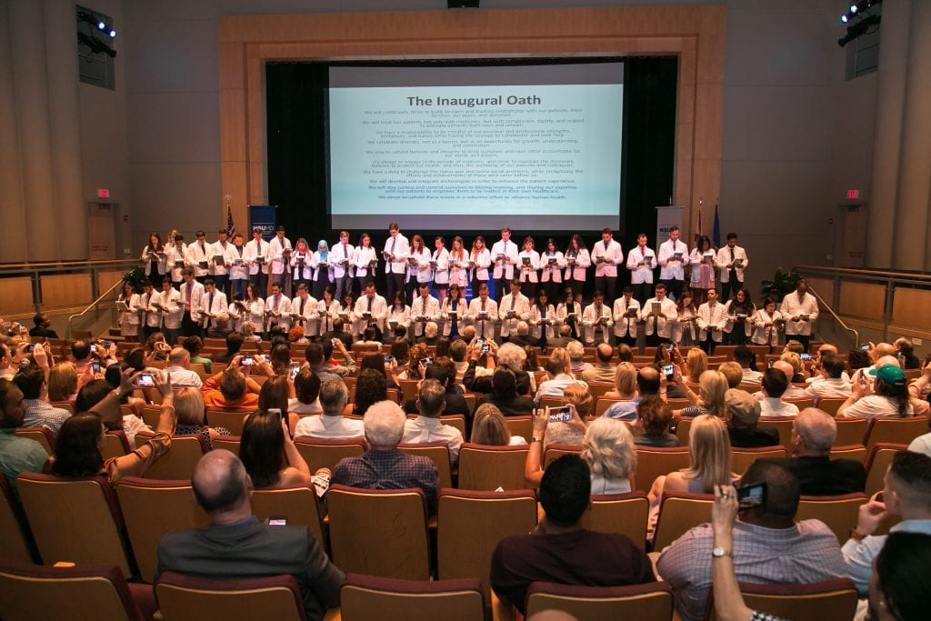 NSU MD Hosts Ceremony to Emphasize Importance of Humanism in Medicine