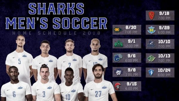 Men's Soccer Schedule