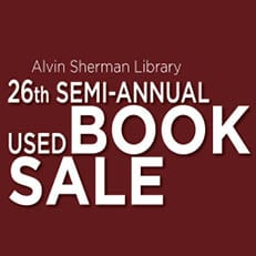 26th Semi-Annual Used Book Sale (Oct. 24)