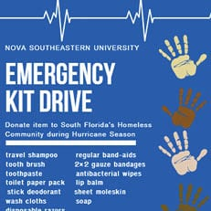 Miami–Emergency Kit Drive (Ends: Sept. 20)