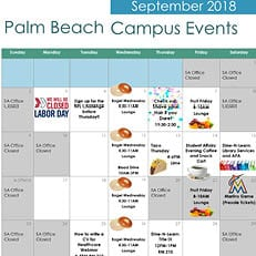 Palm Beach--September Calendar of Events